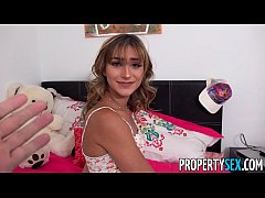 PropertySex - Insane hot nympho roommate almost...