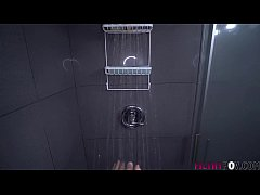 Hot Sister Walks in on Brother in Shower and Ge...