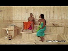 Zafira Klass Makes Sauna Day Amazing When She S...