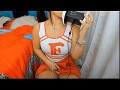 ASMR sexy girl cheerleader Joi Jerk Off instruc...