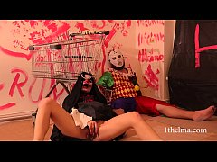 The Joker witch kidnapped and killed clown. hal...