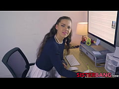 Stunning stepsis Evelin Stone falls in love wit...