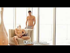 HD ManRoyale - Luke comes over his tattooed boy...