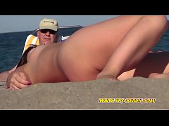 Amateur Sexy Nudist Teen Voyeur Beach Video