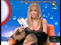 Video de Graciela Alfano mostrando la concha tr...