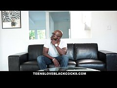 TeensLoveBlackCocks - Hot Blonde uses Her Tight...