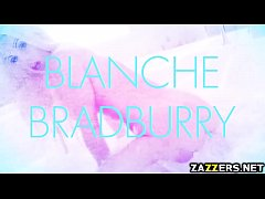 Keiran Lee screwing Blanche Bradburry from behind