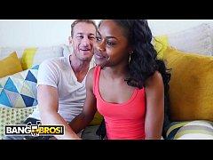 BANGBROS - Two Big Cocks For Young Black Girl N...