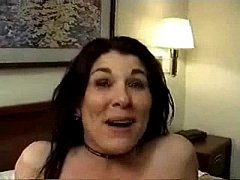 Mature wife get her creampie with 4 strangers