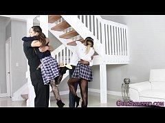Stepdaughters deepthroat