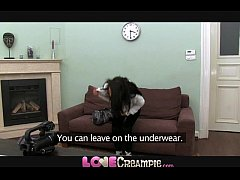 Love Creampie 18 year old tries anal and gets p...