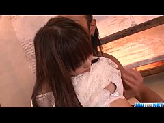 Momoka Rin tries stiff cock in dirty hardcore s...