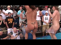 Spring Break Bikini Contest Goes Out Of Control