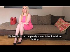 FakeAgentUk Blonde Scottish beauty with bouncy ...
