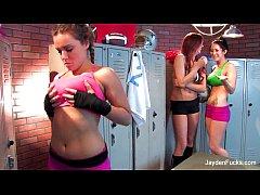 Jayden Jaymes Lesbian Threeesome