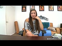 BANGBROS - Young and Slim Asian Beauty Arial Ro...