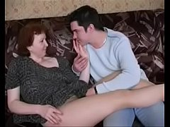2553504 russian mature mom in pantyhose and her...