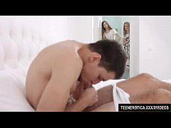 Horny Teen Blondes Adel Bye and Herda Wisky Mak...