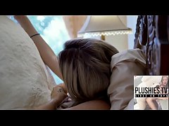 Teen girl Tracy fucked by ritch teddy bear at t...