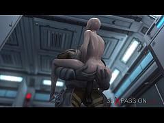 3dxpassion.com. Sci-fi. Alien monster fucks a y...