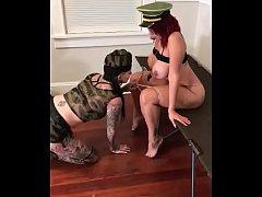 Lesbian Pornstar bootcamp- Latina Milf trains t...