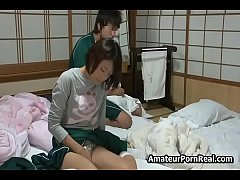 Japanese Teen Girl Bored Home Fucked By Stepbro...