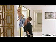 TUSHY Hot Teen Gapes For Dominating Russian Boyfriend