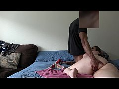 Wife Gets Fucked In Her Bed While Husband Is At...