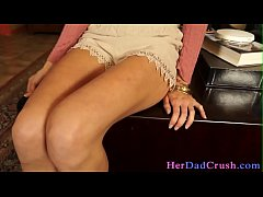 Spanked teen stepdaughter