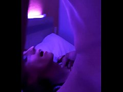 Rylee Roberts gives head then takes painful anal pounding before receiving cum blast.