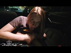 Horny Babe Sucking Dick Stranger in the Taxi - ...
