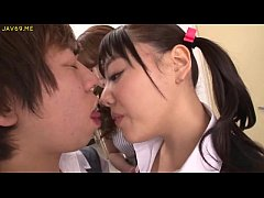 Asian Schoolgirls Seduce Classmate - More Video...