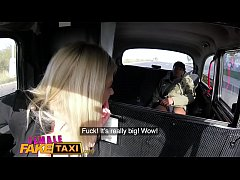 Female Fake Taxi Big tits sexy blonde fucked by...