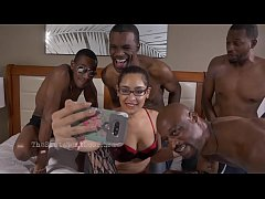 All Black gangbang a girlfriends revenge
