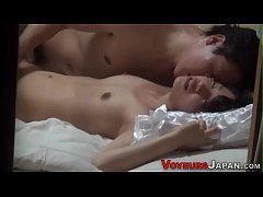 Pounded asian climaxes