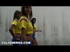 CULIONEROS - Sexy Latina Soccer Players with Bi...