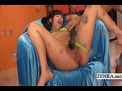 Subtitled uncensored Japanese group explosive o...