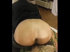 Please leave a comment  Doggystyle Mounted 9 inch dildo until I orgasm