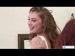 Stepmom helps with the wedding dress - Syren De...