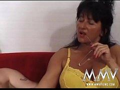 German Granny huge tits Homemade