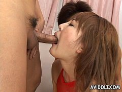 Big boobs Asian babe has a fuck with the randy ...
