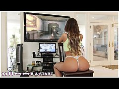 BANGBROS - August Ames Interracial Fuck On Mons...