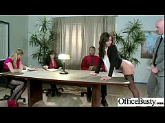 Office Sex Tape With Naughty Lovely Bigtits Girl movie-29