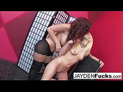 Jayden and Rebecca Blue Play