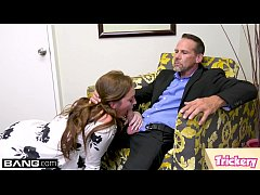 Maddy O'Reilly fucks the therapist while her husband waits
