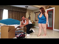 Huge Tit BBW Alyson Galen is Fucked by Stud Mov...