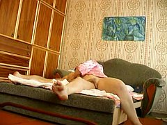 Russian Mature With Youthful Boy Hiddencam