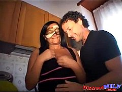Mask sex party for matures