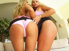 Sperm Swap Sizzling hot busty babes fucked till its raw