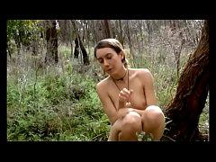 Australian female naturist